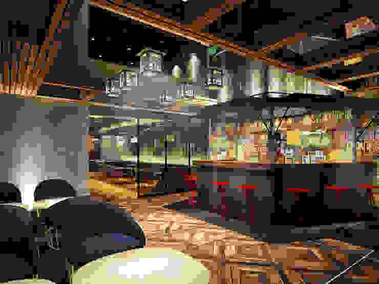 Bar exterior de Fernando Borda Arquitectura de Interiores
