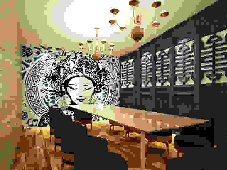 Salón privado de Fernando Borda Arquitectura de Interiores