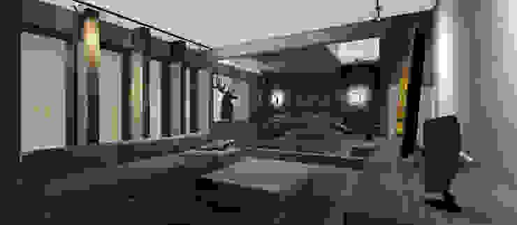 Living y Dormitorio Abierto Dormitorios de estilo moderno de CB Luxus Inmobilien Moderno