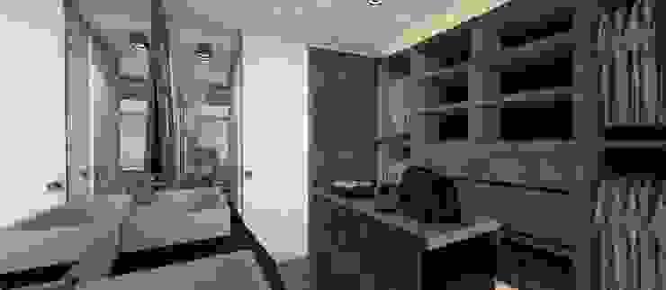 Vestidor Vestidores y placares de estilo moderno de CB Luxus Inmobilien Moderno