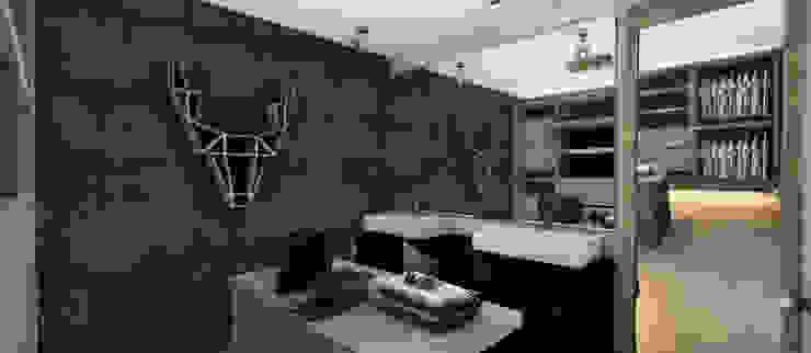 Vestidor+Vanitorios Vestidores y placares de estilo moderno de CB Luxus Inmobilien Moderno