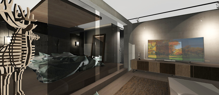 Dormitorio Dormitorios de estilo moderno de CB Luxus Inmobilien Moderno