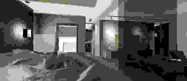 Dormitorio y Vestidor Dormitorios de estilo moderno de CB Luxus Inmobilien Moderno