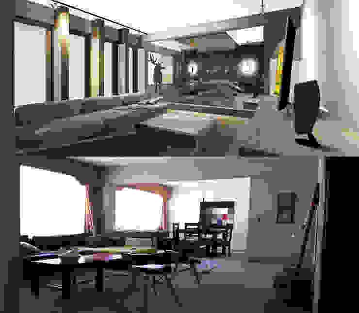 Antes y Después 2 Dormitorios de estilo moderno de CB Luxus Inmobilien Moderno