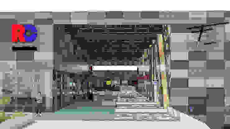 Camara 17 - Acceso secundario Centros comerciales modernos de DUSINSKY S.A. Moderno