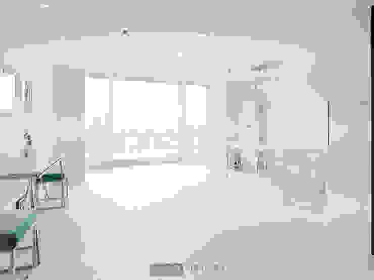 지승아이디 Salas de estilo minimalista