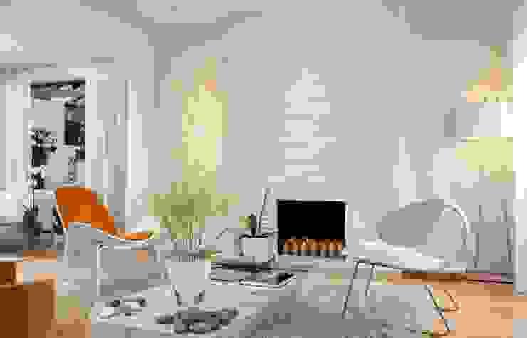 Thiết kế nội thất phòng khách đẹp bởi Thương hiệu Nội Thất Hoàn Mỹ Hiện đại