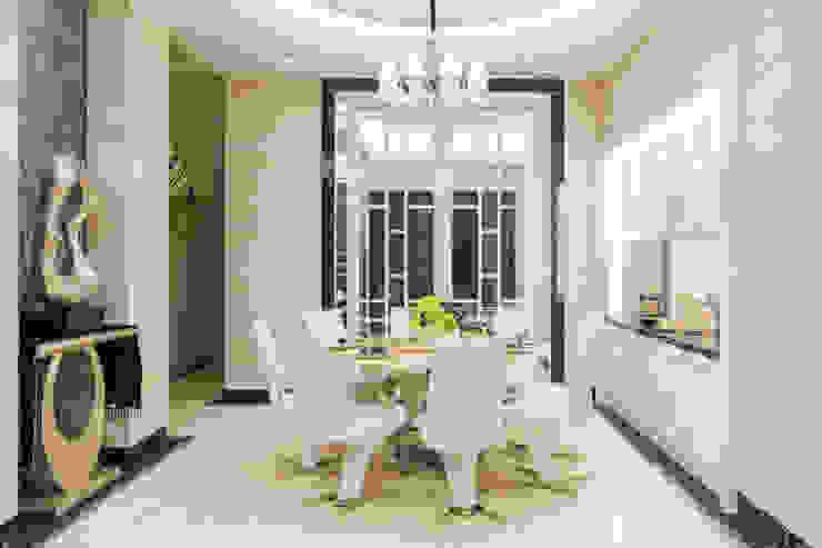 窗櫺借景 / 世代傳承 根據 騰龘空間設計有限公司 古典風