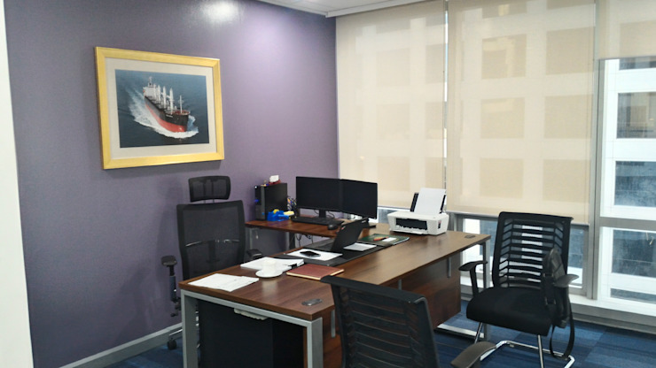 Marshall Islands Registry Manila Office by KDA Design + Architecture Modern