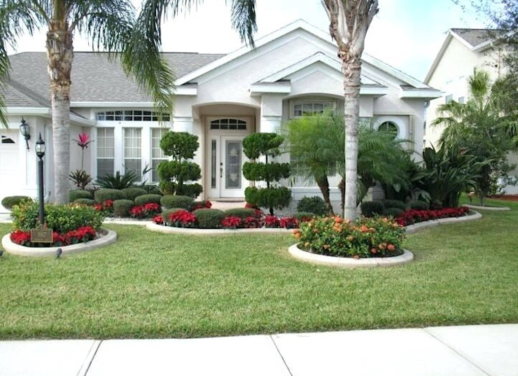 Front Yard Landscaping Design Ideas By Luxen India Architects Homify