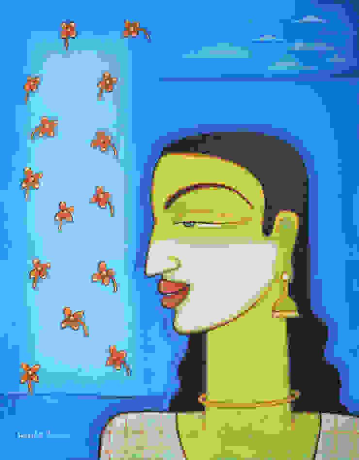 เอเชีย  โดย Indian Art Ideas, เอเชียน