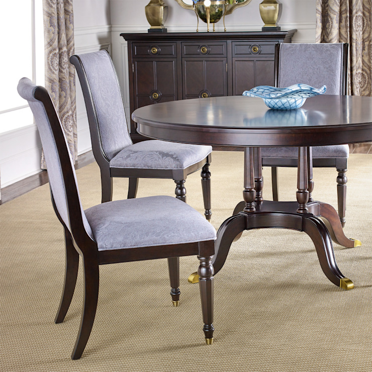 Chandler Dining Chair: classic  by Bombay Canada,Classic Wood Wood effect