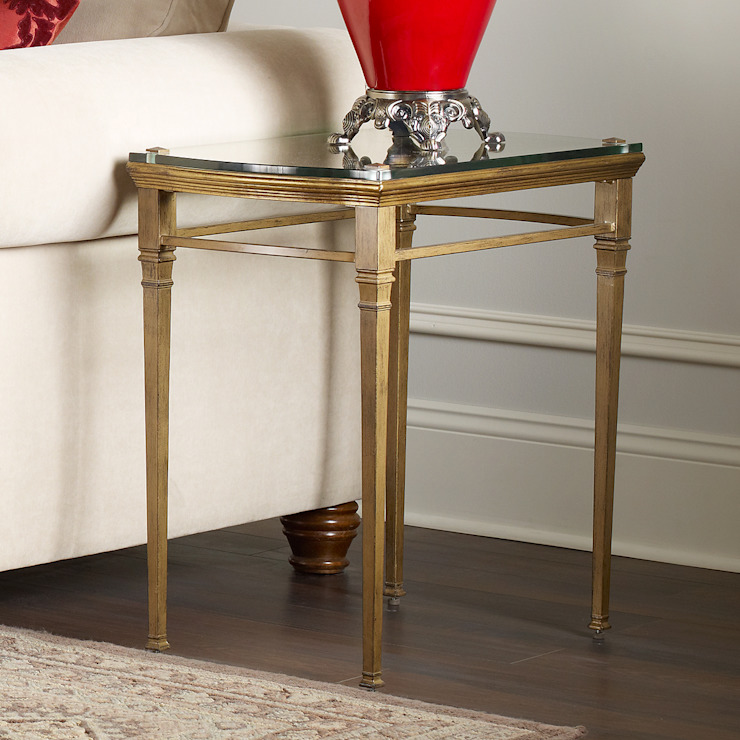 Castleton End Table: classic  by Bombay Canada,Classic Glass