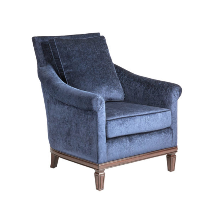 Dupree Occasional Chair: classic  by Bombay Canada,Classic Textile Amber/Gold