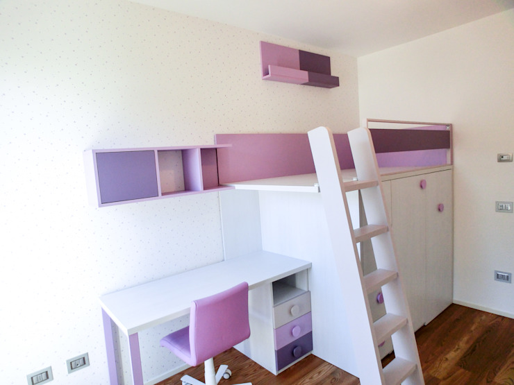 Spaziojunior Girls Bedroom Purple/Violet
