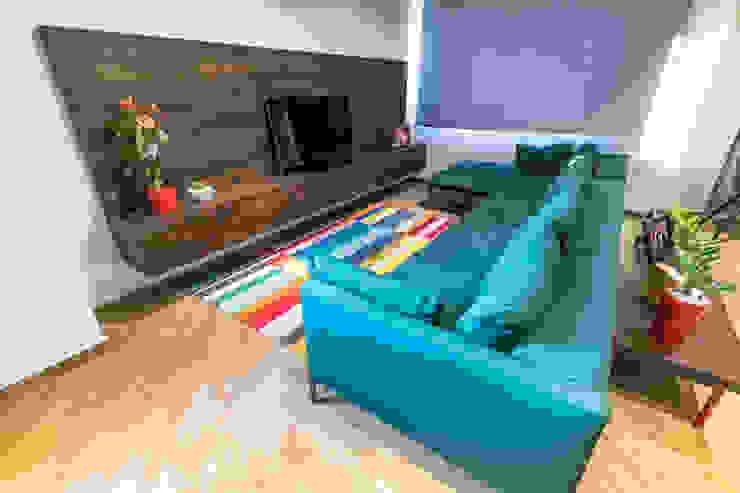 APTO PV Design Group Latinamerica Salas de estilo moderno