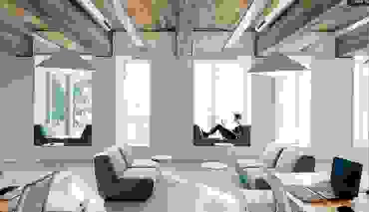 Modern study/office by TORRES ARQUITECTOS Modern