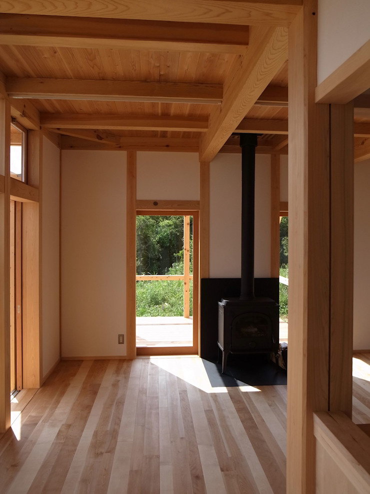 北村建築設計事務所 Salones de estilo moderno