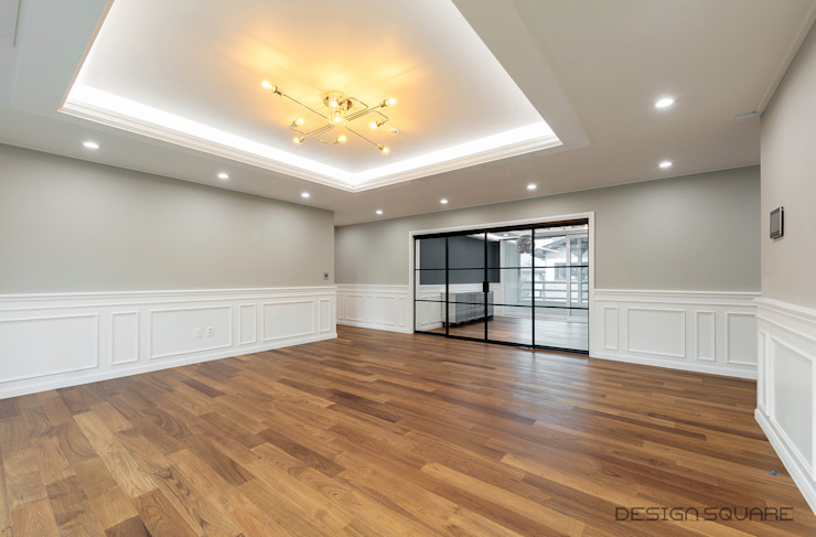 Modern living room by 디자인스퀘어 Modern