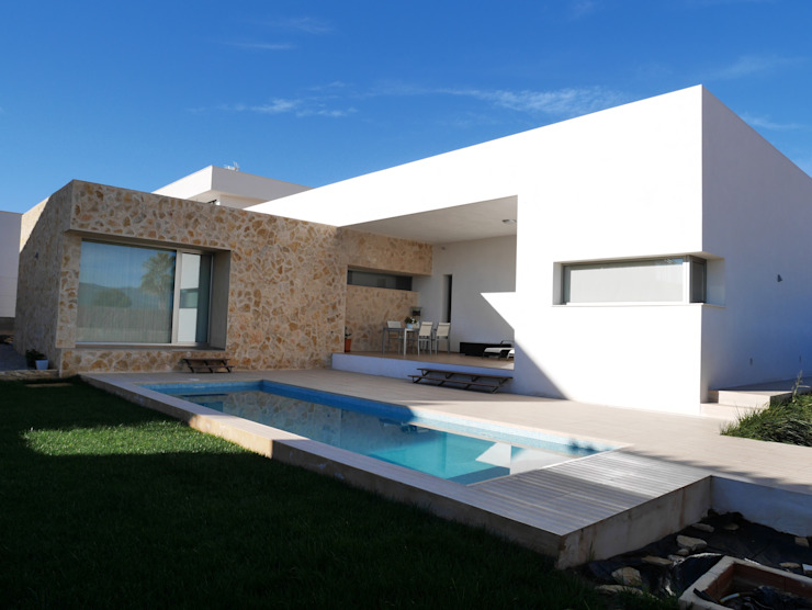 linkehome arquitectura 獨棟房 石器 White