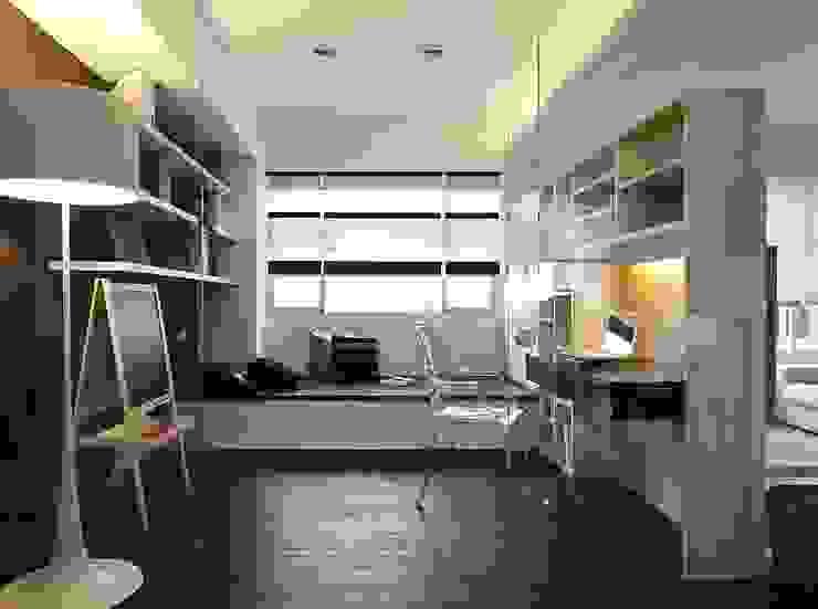 用色彩說故事:一個人的豪宅新生活 根據 禾光室內裝修設計 ─ Her Guang Design 現代風