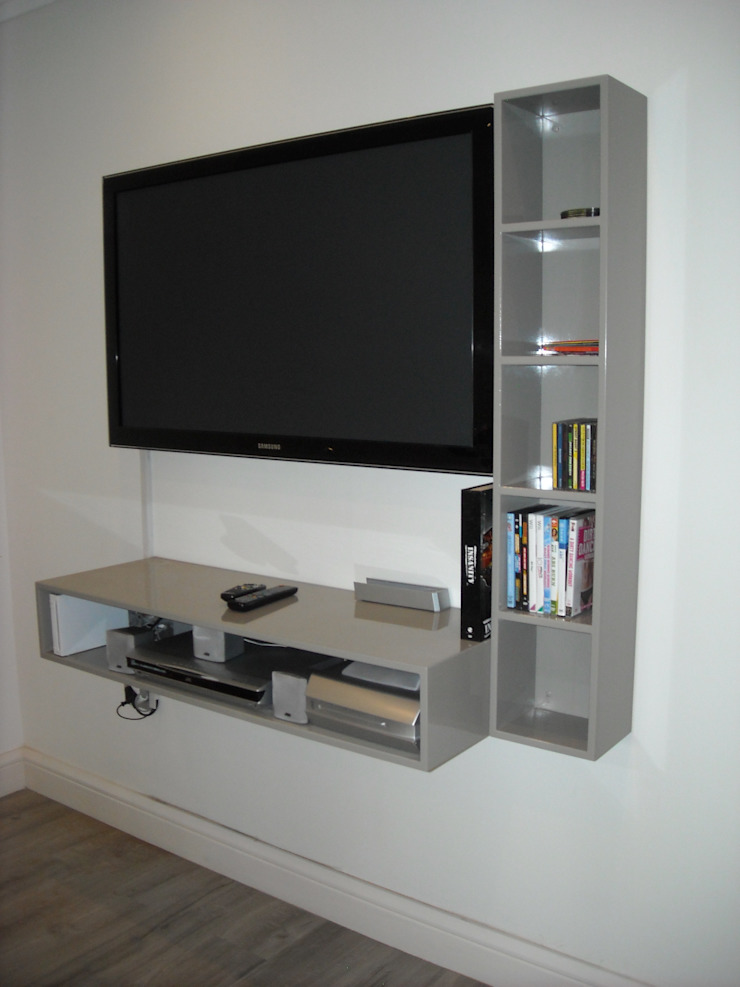 TV Units Eclectic style study/office by CKW Lifestyle Associates PTY Ltd Eclectic Wood Wood effect