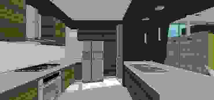 Casa en Barinas Cocinas de estilo minimalista de MARATEA estudio Minimalista