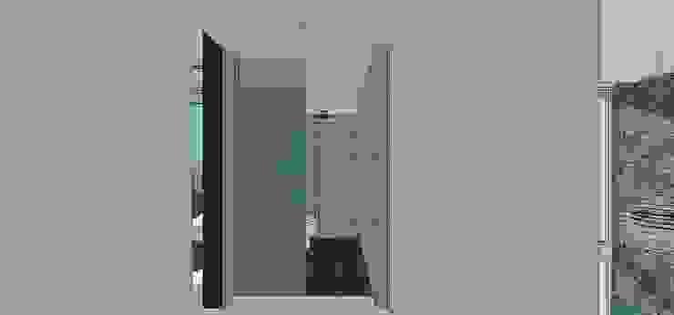 Casa en Barinas Baños de estilo minimalista de MARATEA estudio Minimalista
