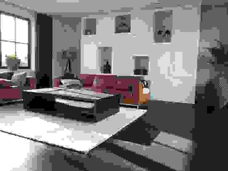 Livings modernos: Ideas, imágenes y decoración de ARDEE Parket Interieur Design Moderno Madera Acabado en madera