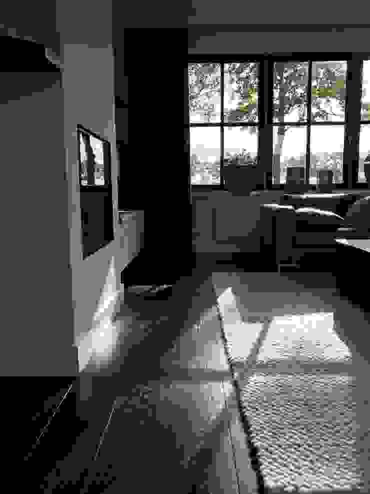 Salon moderne par ARDEE Parket Interieur Design Moderne Bois Effet bois