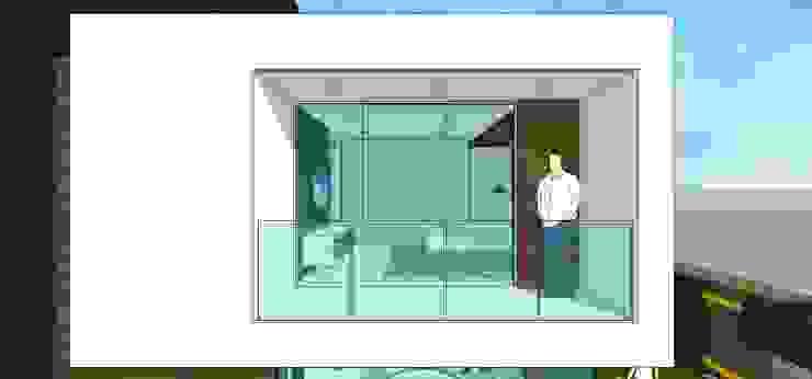 Casa en Barinas Balcones y terrazas de estilo minimalista de MARATEA estudio Minimalista