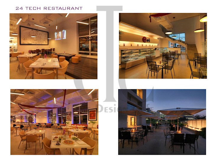 Restaurant Asian style bars & clubs by The Design Cafe Asian