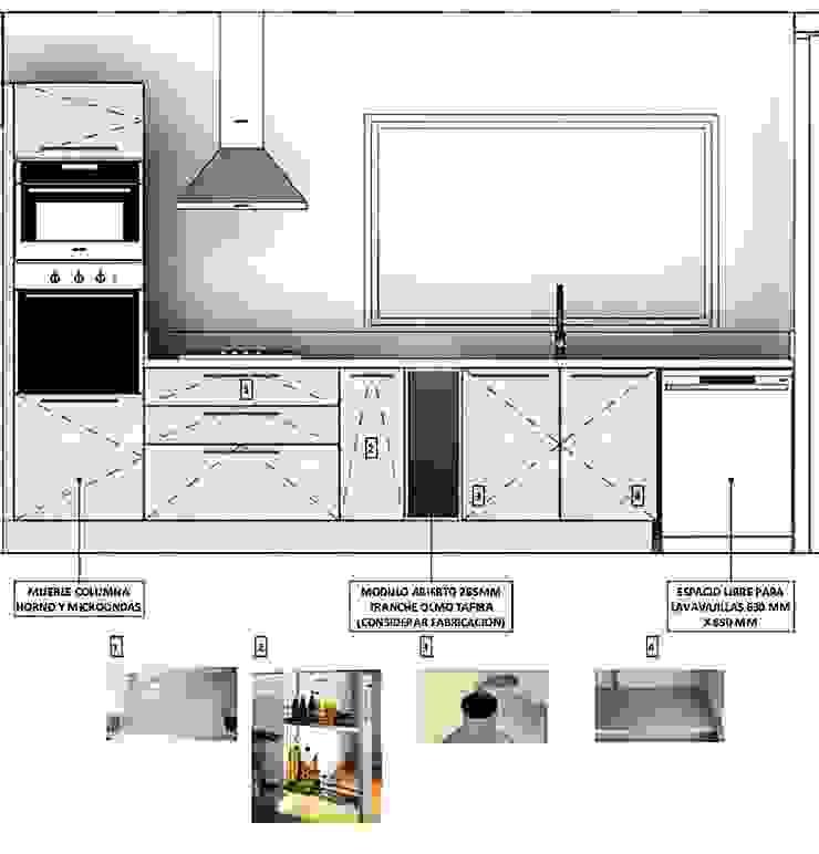 Vivienda Lt37 Premium 115m2 Fundo Loreto de Territorio Arquitectura y Construccion - La Serena Moderno Compuestos de madera y plástico