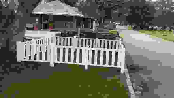 Cercos de PVC desarrollado para Cementerio Parque de Constructora Las Américas S.A. Clásico Plástico