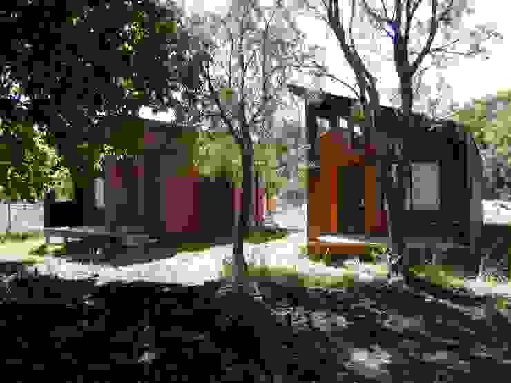Refugio M-1, Pucón de homify Minimalista Madera Acabado en madera