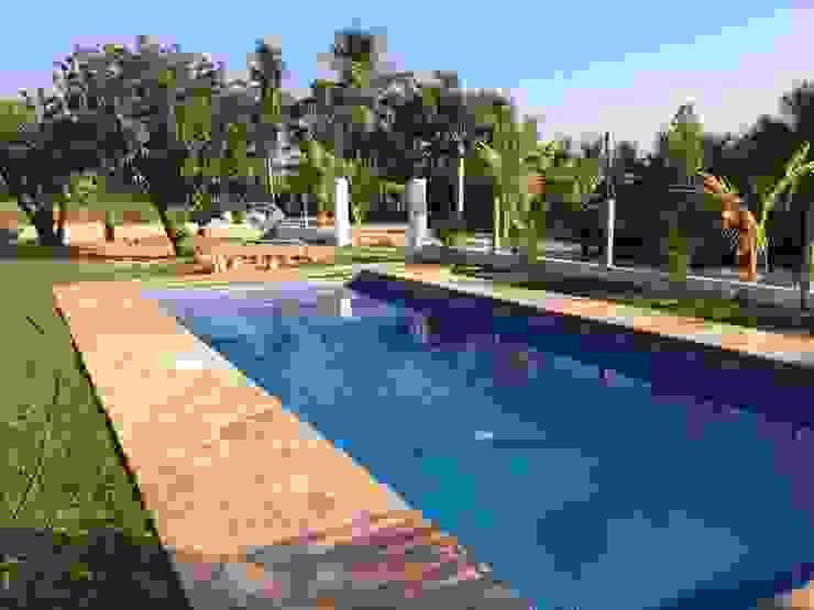 Alberca Casa Cantu Crystal Pool Bungalows