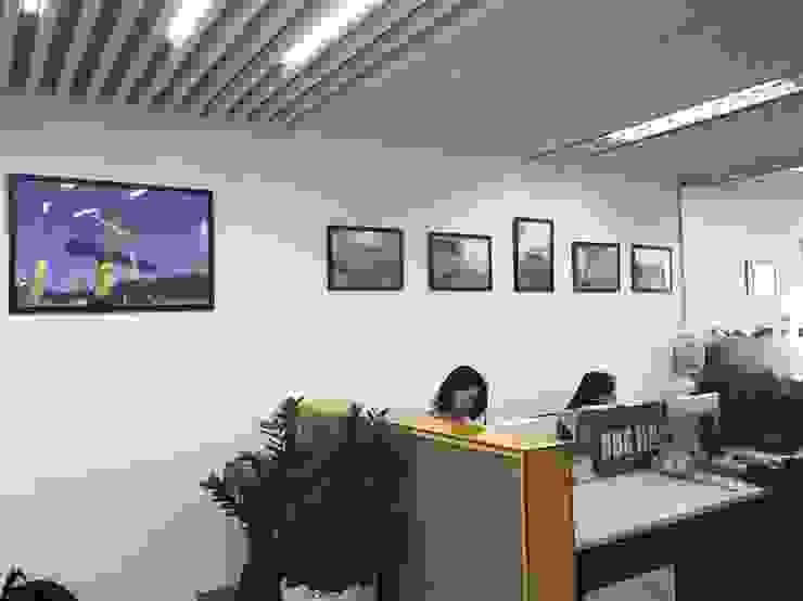 Chamvit Tower Office: Châu Á  by Forestland Architecture and Interior Design JSC, Châu Á