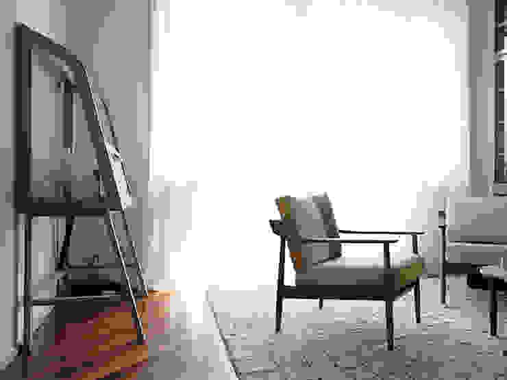 studionove architettura Classic style study/office White