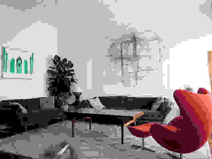studionove architettura Classic style living room White