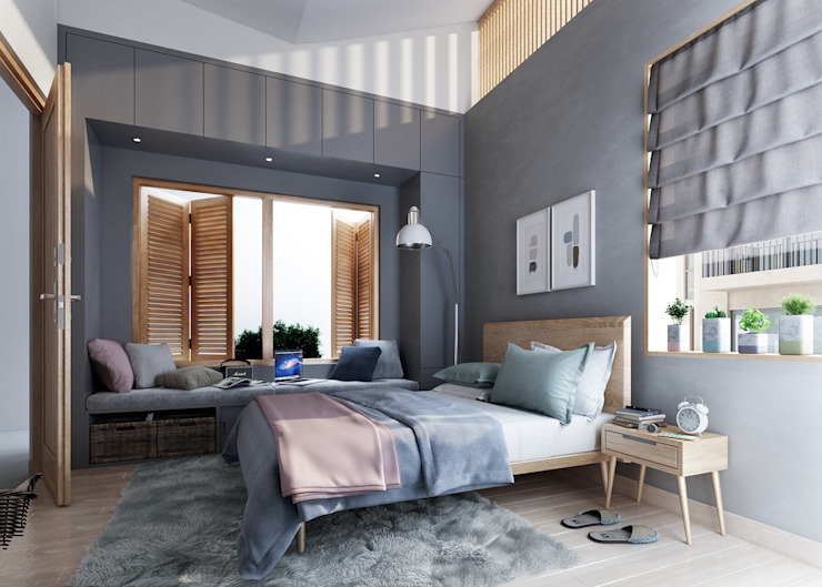 15 Ideas To Arrange Your Bed Around The Bedroom Window Homify,Muslim Fashion Designers