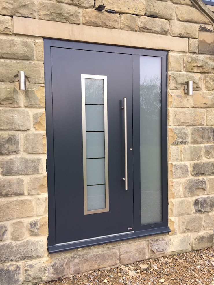 General Images RK Door Systems Front doors Aluminium/Zinc Grey