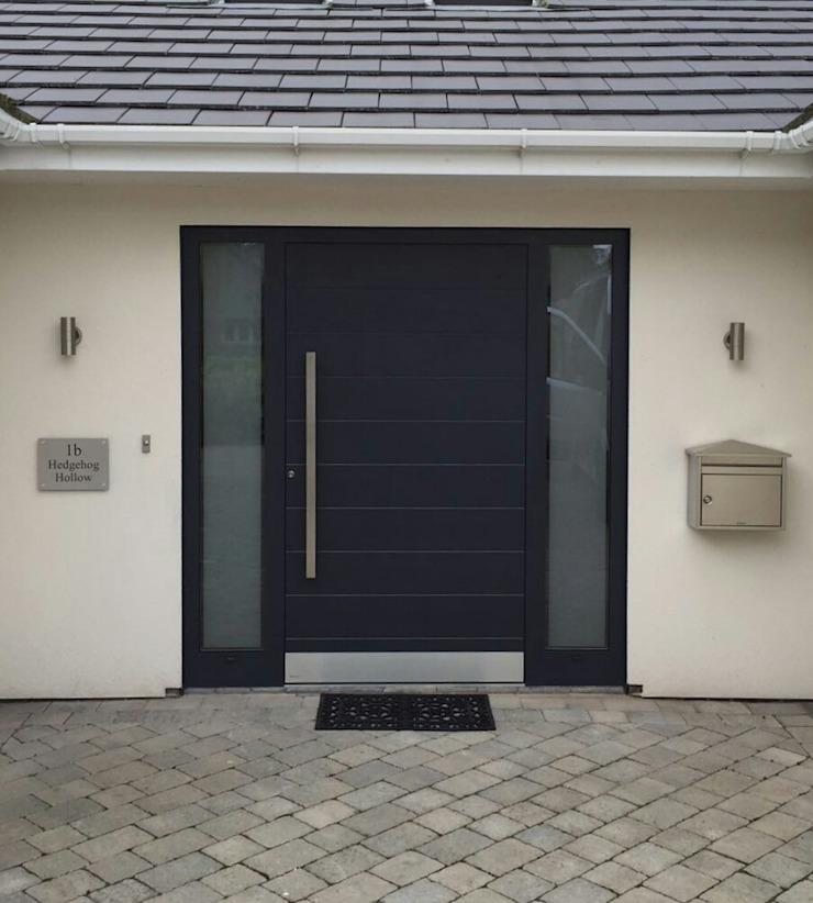 General Images RK Door Systems Front doors Grey