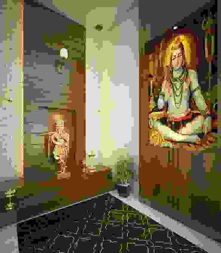 Pooja Room classicspaceinterior Living roomAccessories & decoration