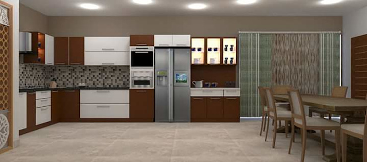 classicspaceinterior KitchenCabinets & shelves