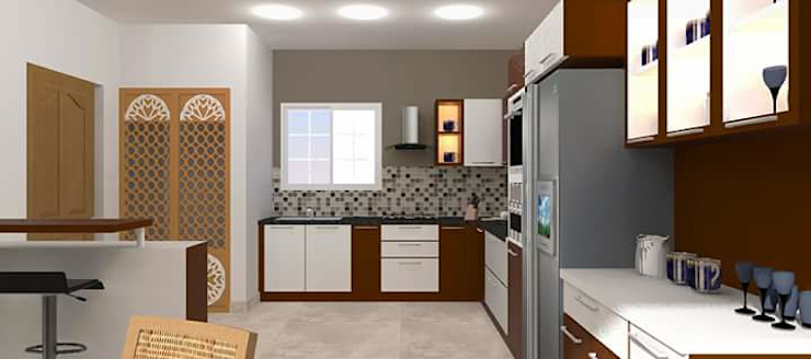 classicspaceinterior KitchenCabinets & shelves