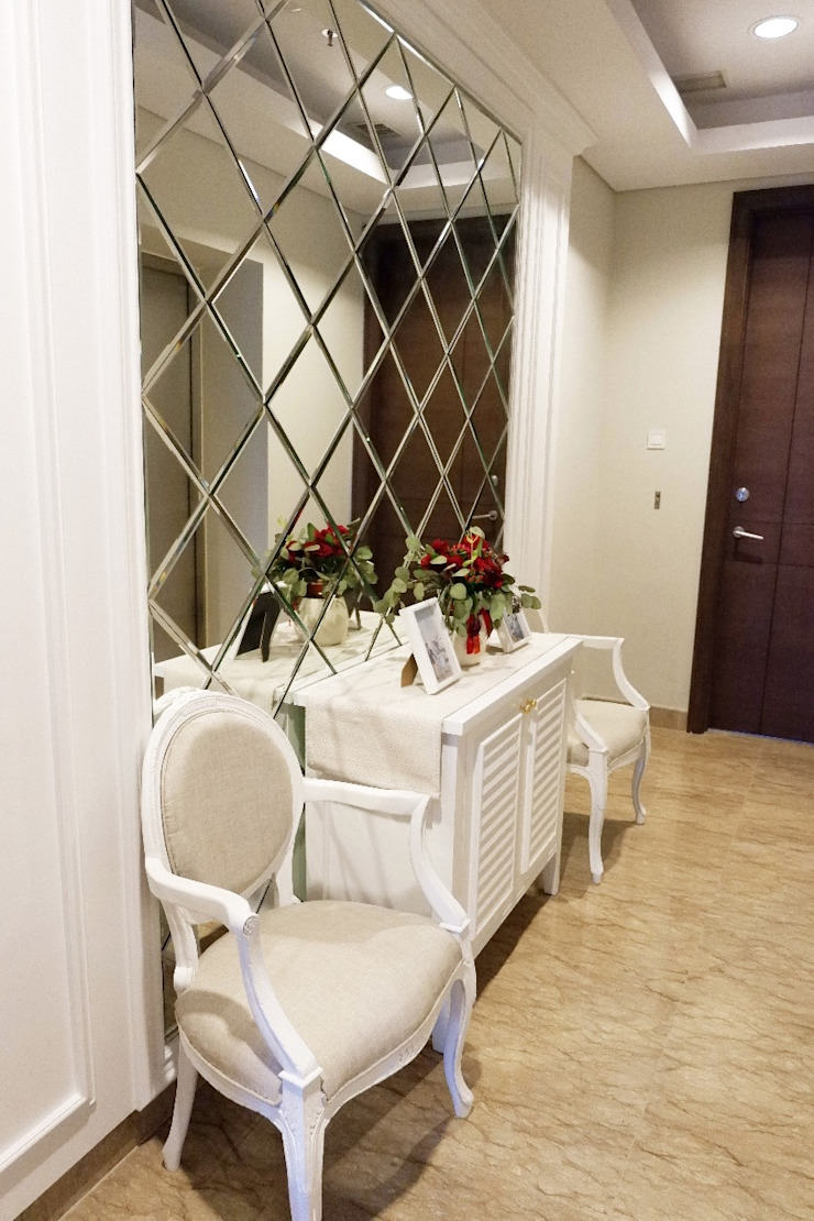 Apartmen Windsor Jakarta Barat Koridor & Tangga Klasik Oleh Gaiyuu Jaya Abadi Klasik