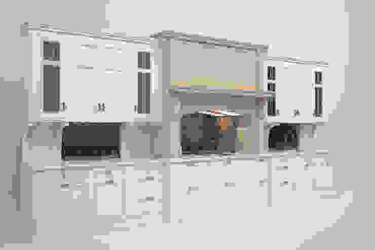 Белая кухня фабрики Charles Yorke от NABOKOFF английские интерьеры
