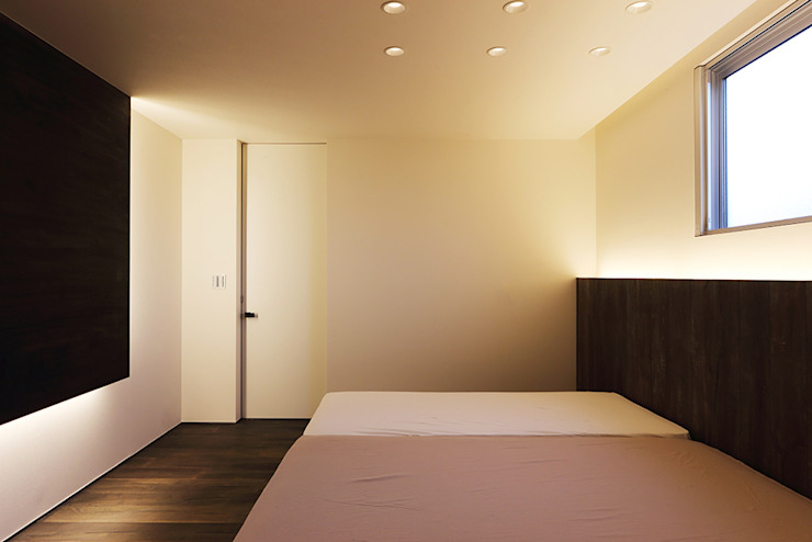 *studio LOOP 建築設計事務所 Modern Bedroom