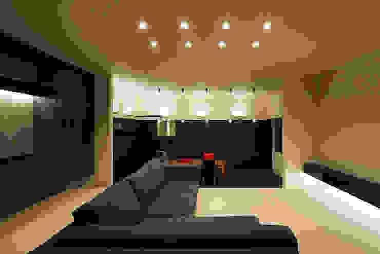 *studio LOOP 建築設計事務所 Modern Living Room