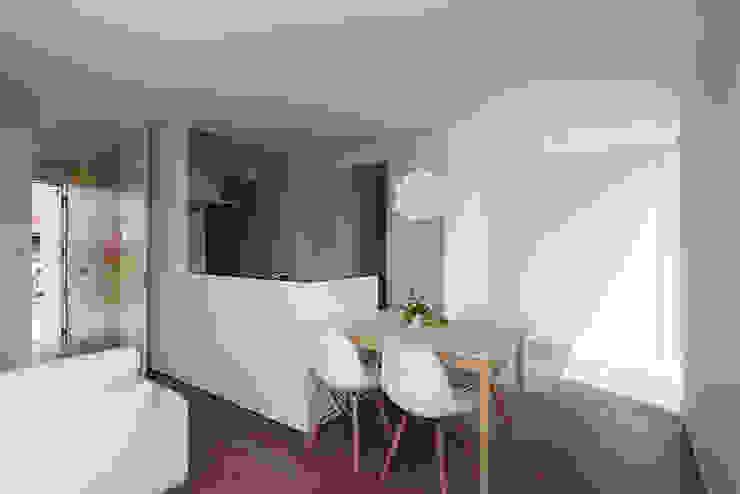 *studio LOOP 建築設計事務所 Modern Dining Room